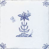 delft flower design two